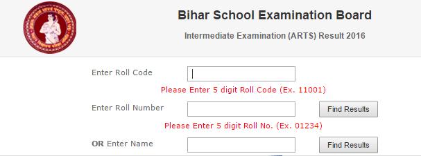 bihar board bseb arts result 2016