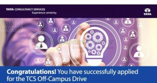 TCS Off-Campus Recruitment Drive
