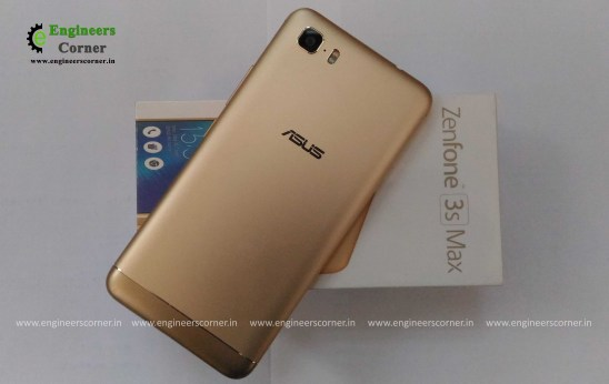ASUS Zenfone 3 Max Back side pic
