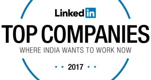 Top 25 Compnies by LinkedIn