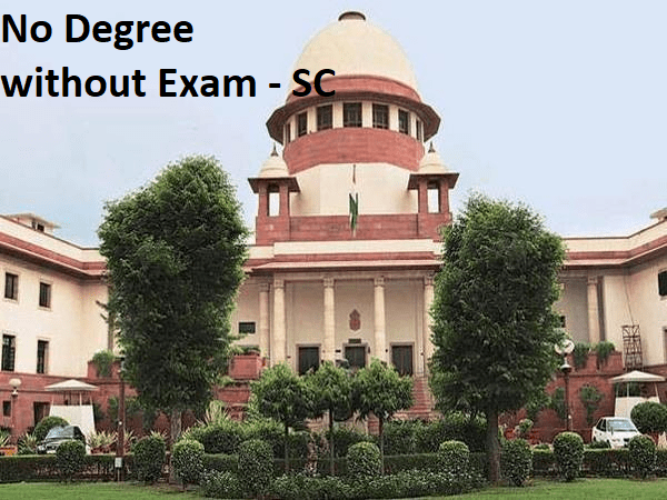 Supreme Court Says No Degree Without The Final Year Exam, Upheld Ugc Stand - Engineers Corner