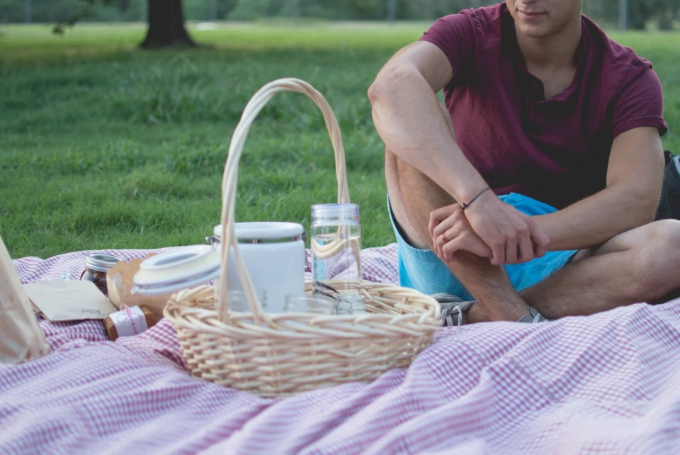 picnic at the concert