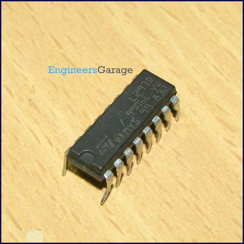 L293D Motor Driver IC Image