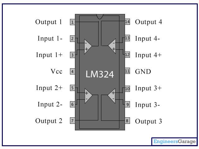 Lm324 Ic Pin Diagram Amp Description Lm324n Datasheet