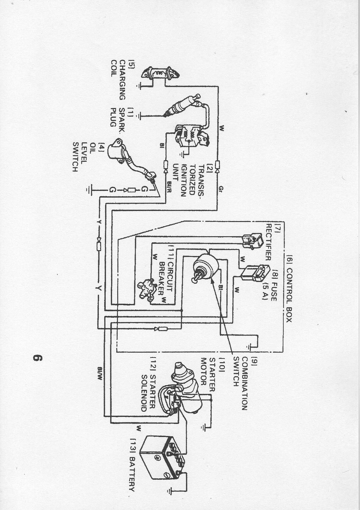 Honda Gx200 Electric Start Wiring Diagram