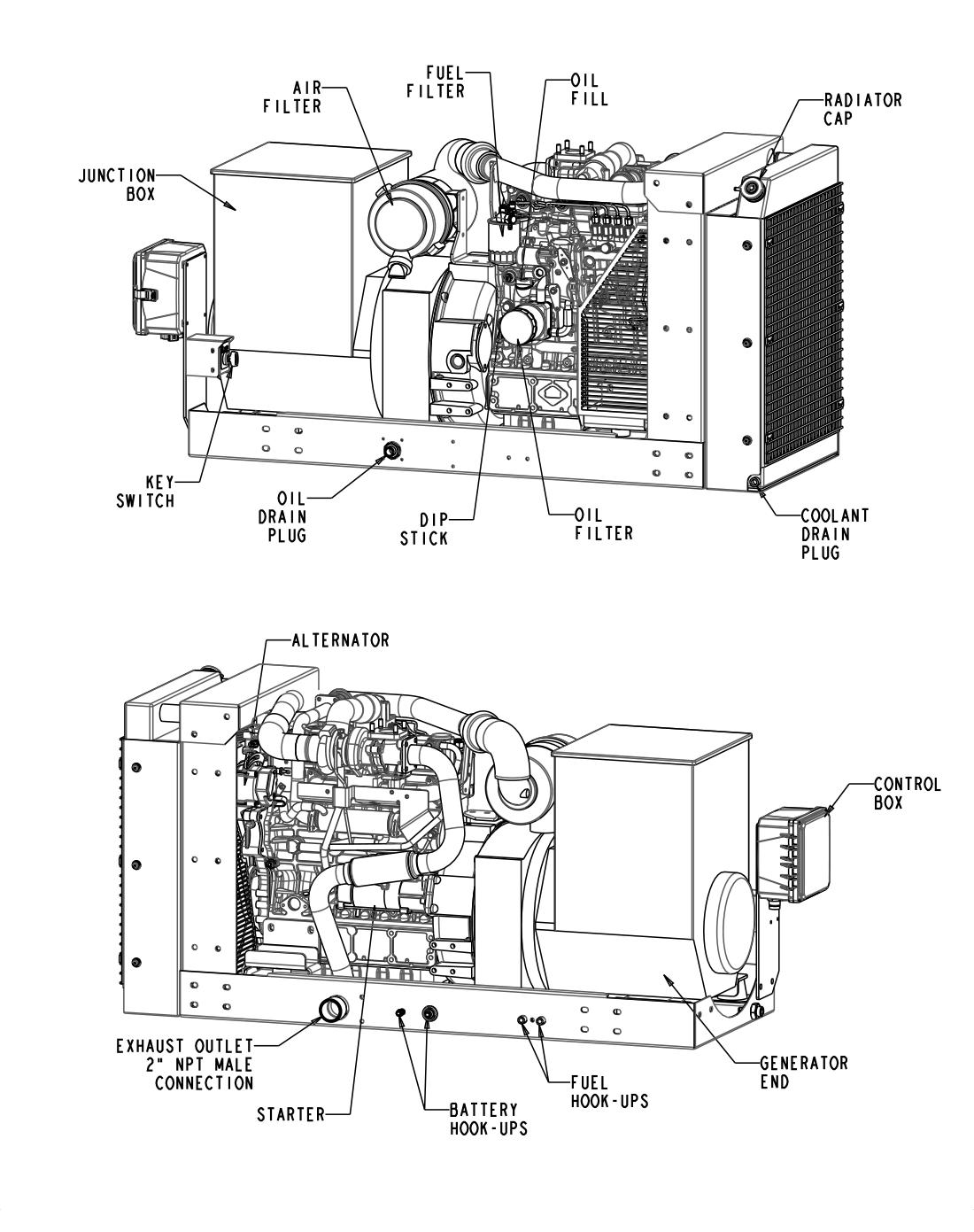 45 Kwsel Generator Details