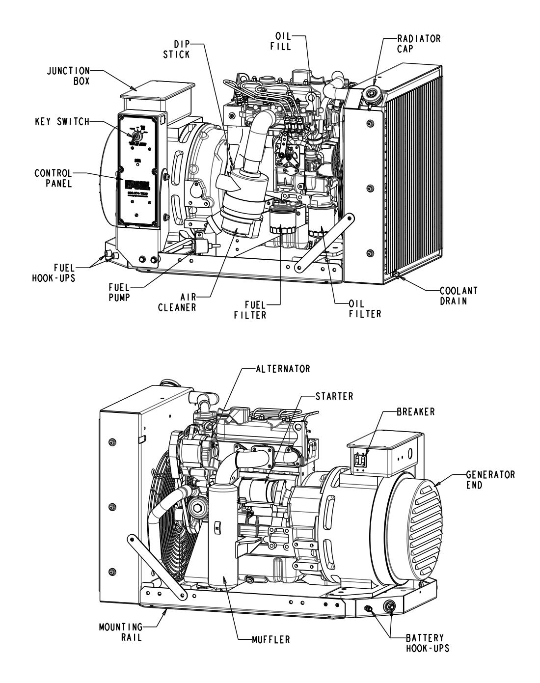 9 Kwsel Generator Details