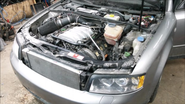 2003 Audi A4 with a 4.2 L V8