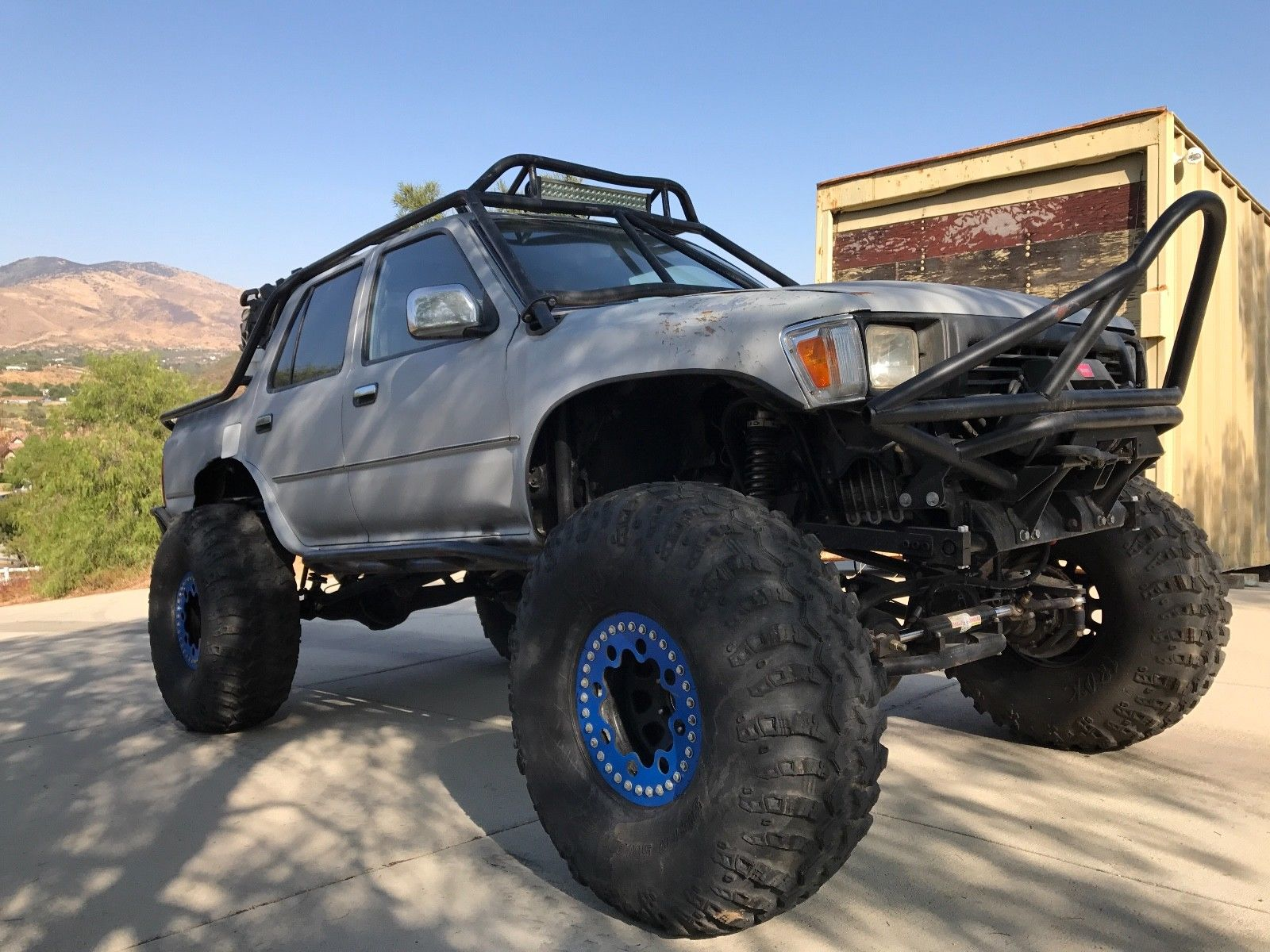 Toyota 4Runner With A 1UZ V8
