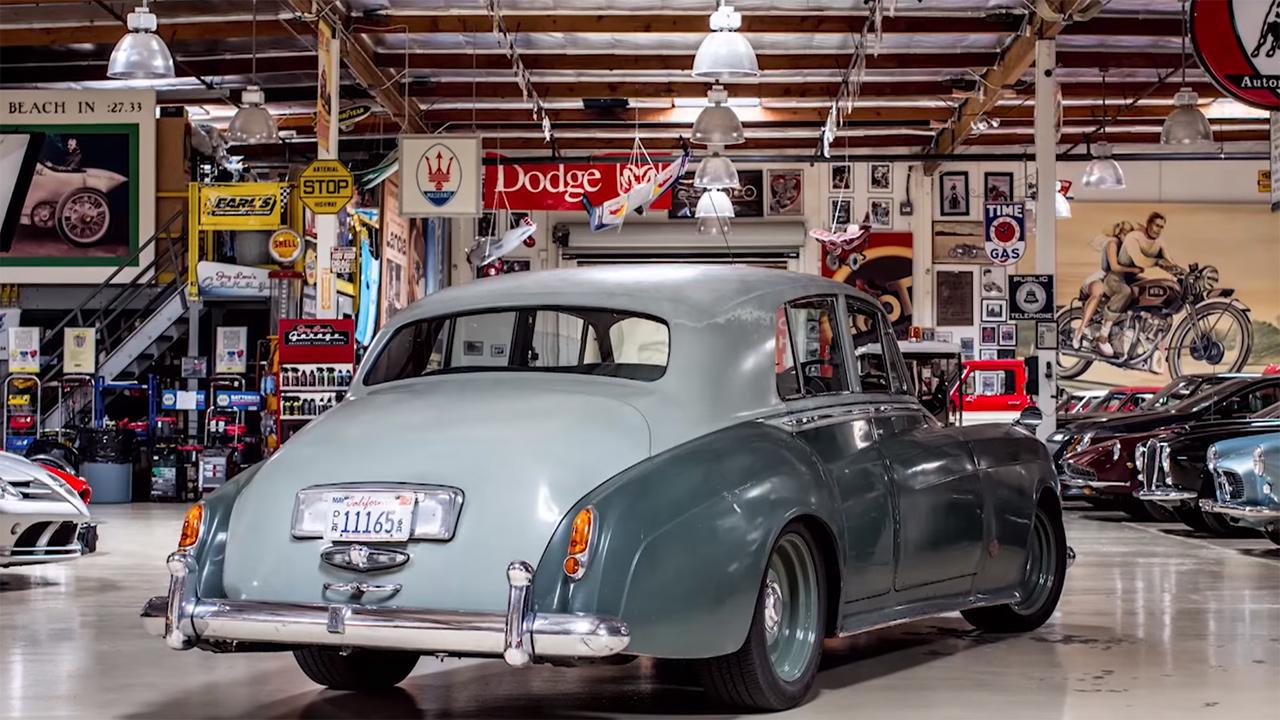 Icon S 1958 Rolls Royce Silver Cloud Derelict Engine