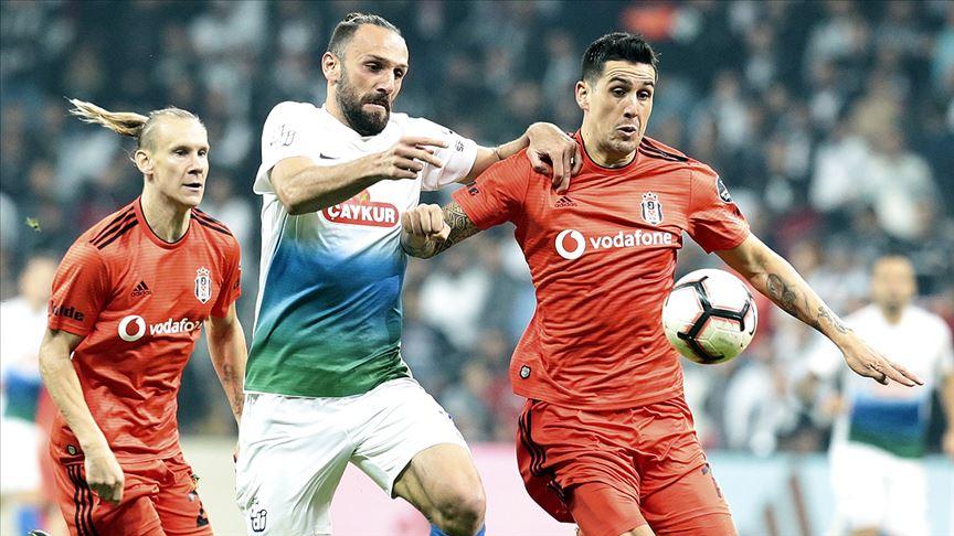 Beşiktaş ile Çaykur Rizespor 36. randevuda