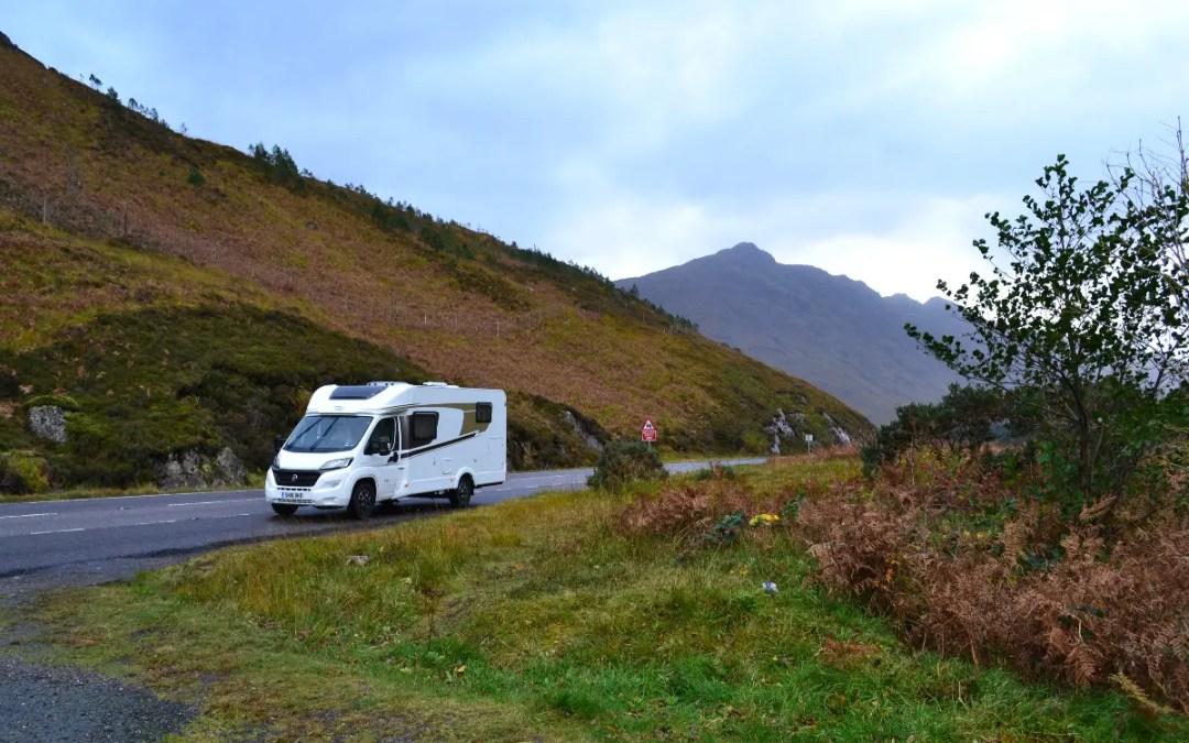 Mit dem Wohnmobil durch Schottland