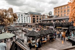 Camden Market, einer der buntesten Märkte in London.