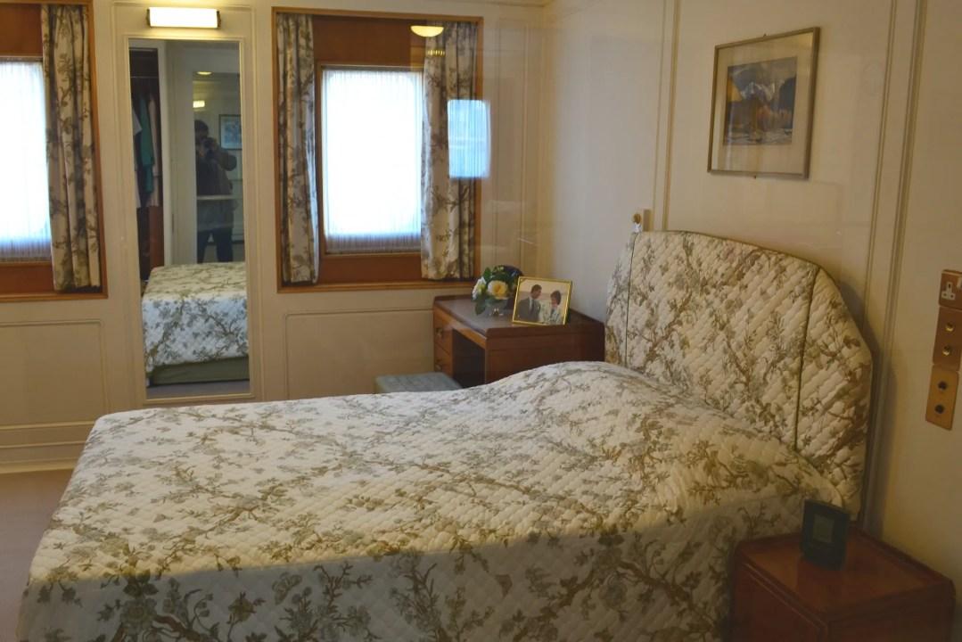 Royal Yacht Britannia Schlafzimmer Charles und Diana