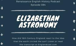 Tudor Astronomy