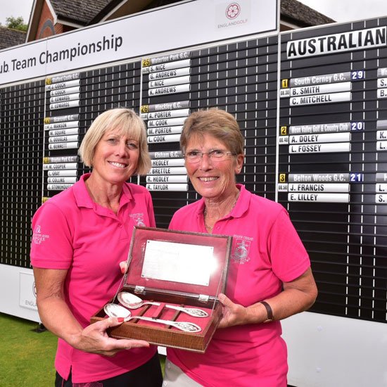 Club golf pair win national women's title
