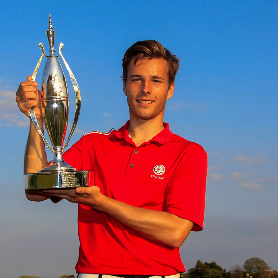 Jordan wins Lytham Trophy by nine