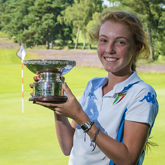 Charlotte's last hole birdie is a title winner