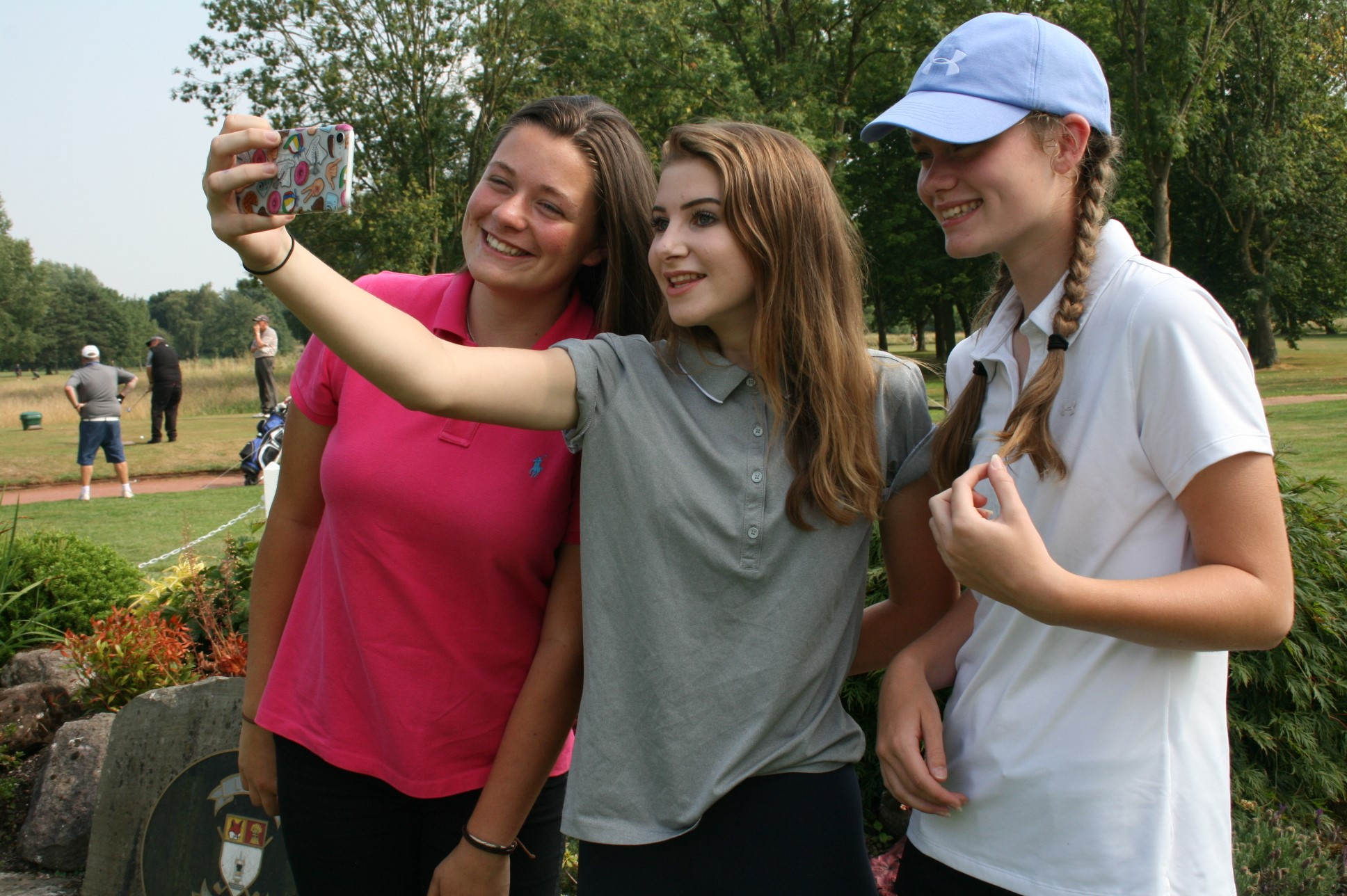 Women and Girls Golf Week: Three Cheshire girls who got together through Girls Golf Rocks are heading to a national final
