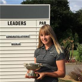 Nicola's great form clinches match play title