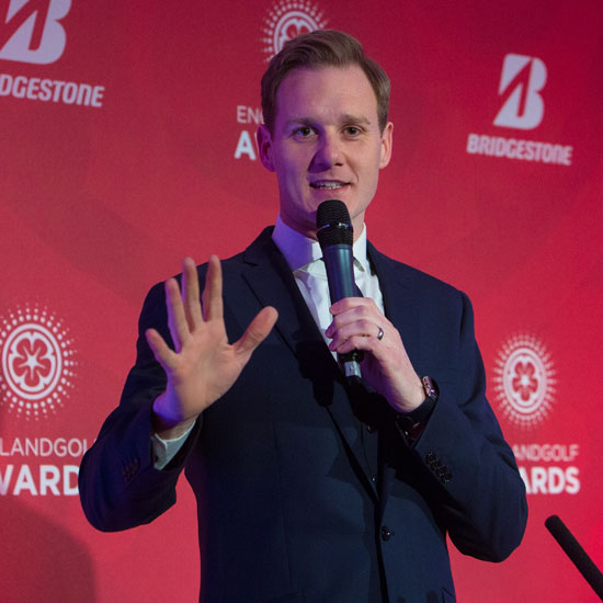 Dan Walker to host England Golf Awards 2019
