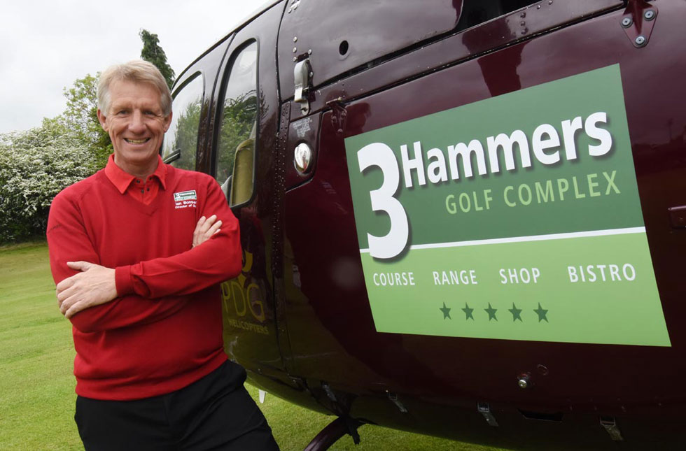 Award winning 3 Hammers joins England Golf