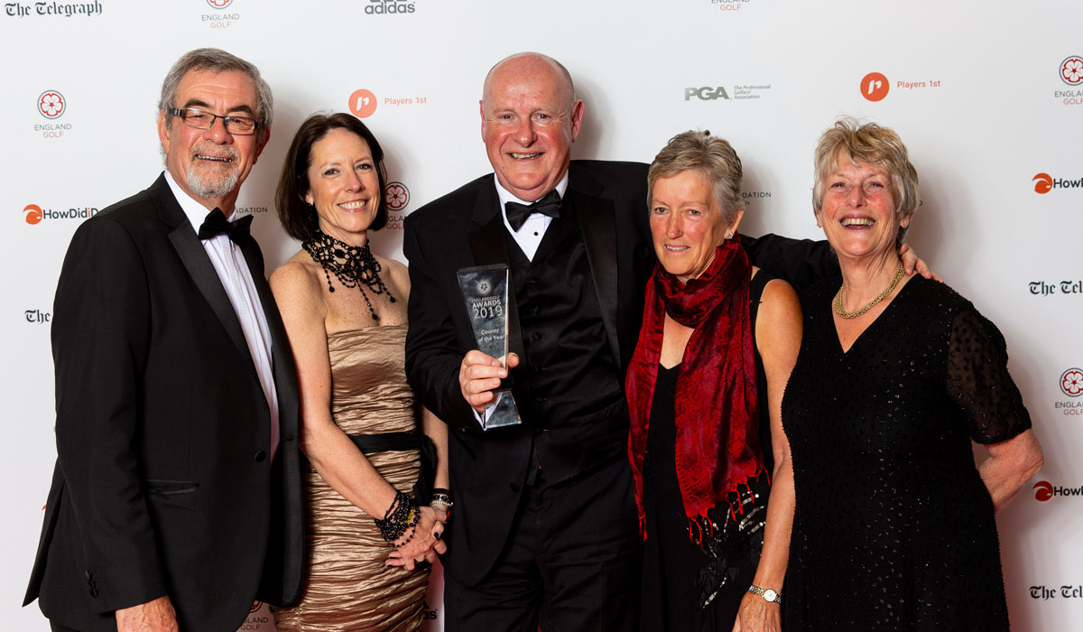 Wiltshire Golf is County of the Year