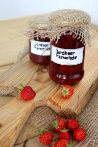 Sukkerfri jordbær marmelade