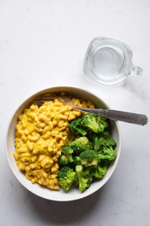 vegansk mac'n'cheese