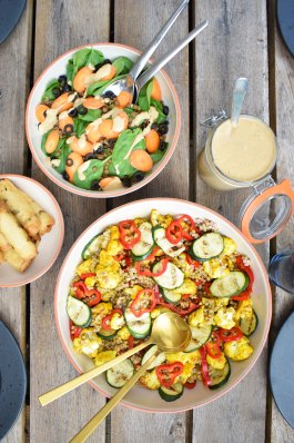 grillmad sommer salater
