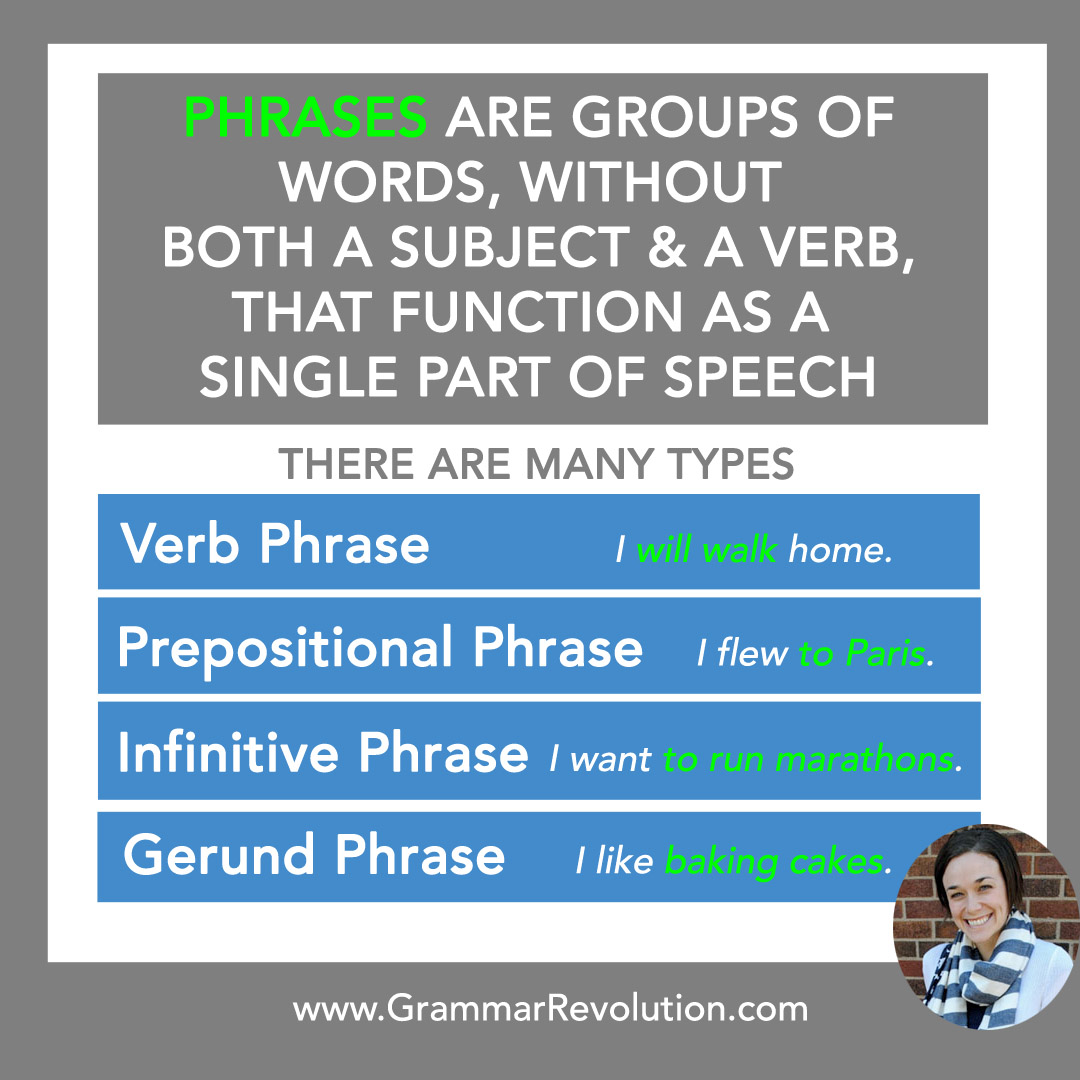 What Is A Verb Phrase In A Sentence Examples