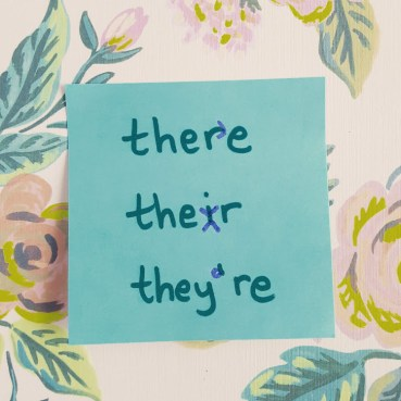 Commonly Confused Words: There, Their, and They're