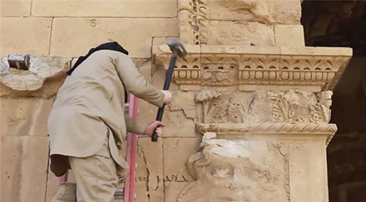 'ISIL' Looting Heritage Sites on 'Industrial Scale'