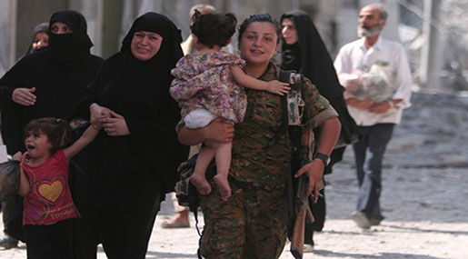 Aleppo's Victory: Defeated Militants' Evacuated, UN Warns: Militants Using Civilians as Shields