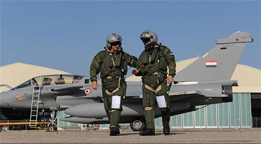 As-Safir: Egypt Pilots Deployed to Boost Syria's War on Terror
