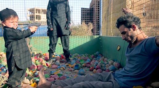 Daesh child soldier