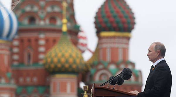Putin's Victory Day Speech: No Force Will Ever Enslave Russian People