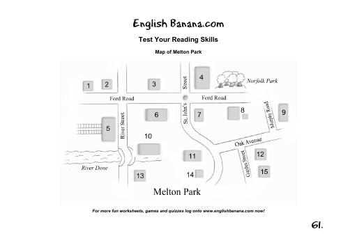 Map Of Melton Park