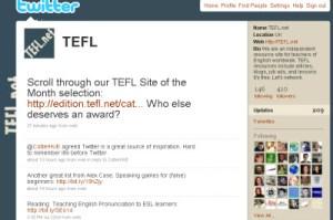 TEFL.net on twitter