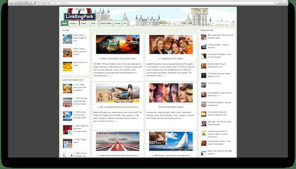 LinkEngPark-Site
