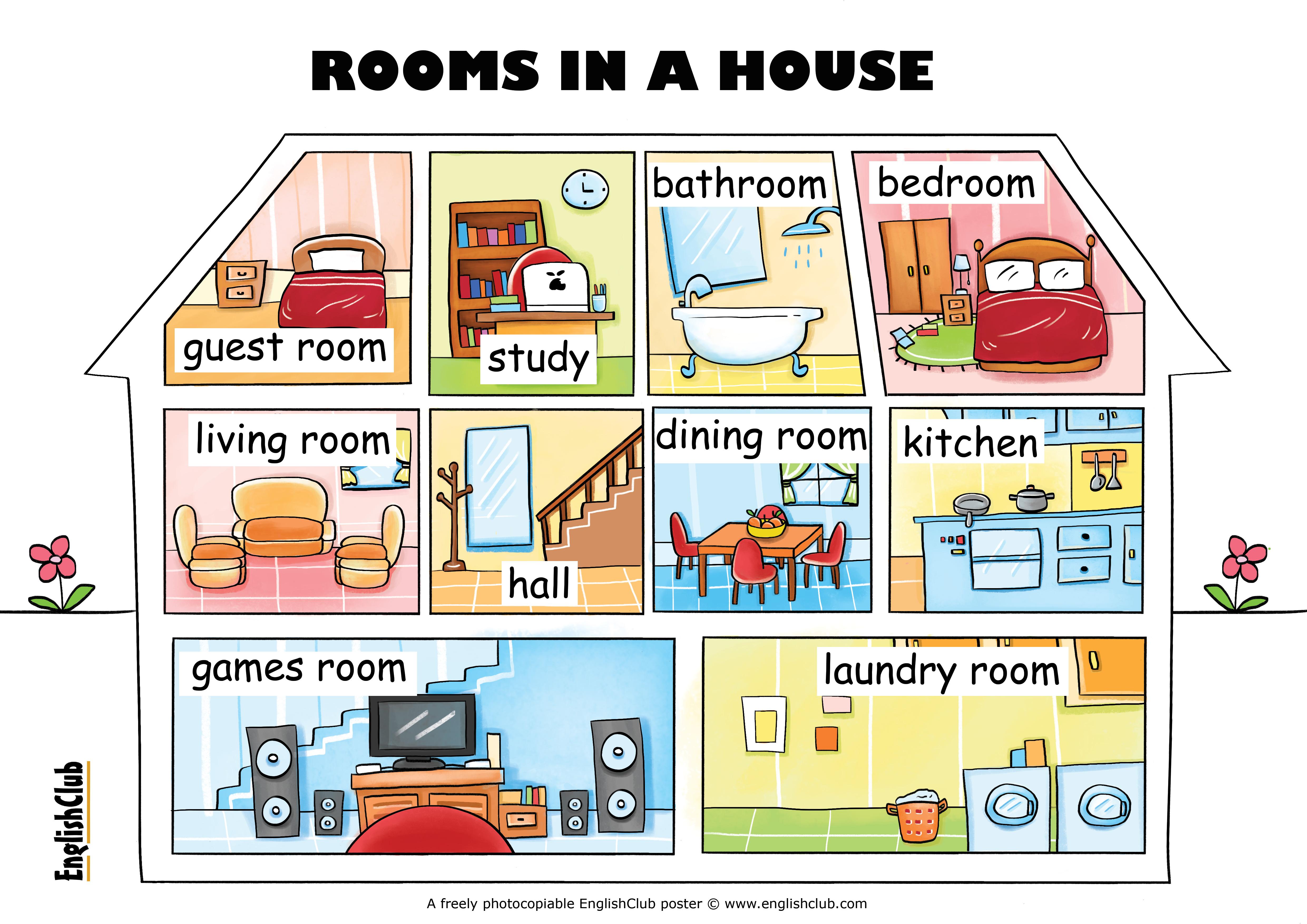 Bedroom Vocabulary English