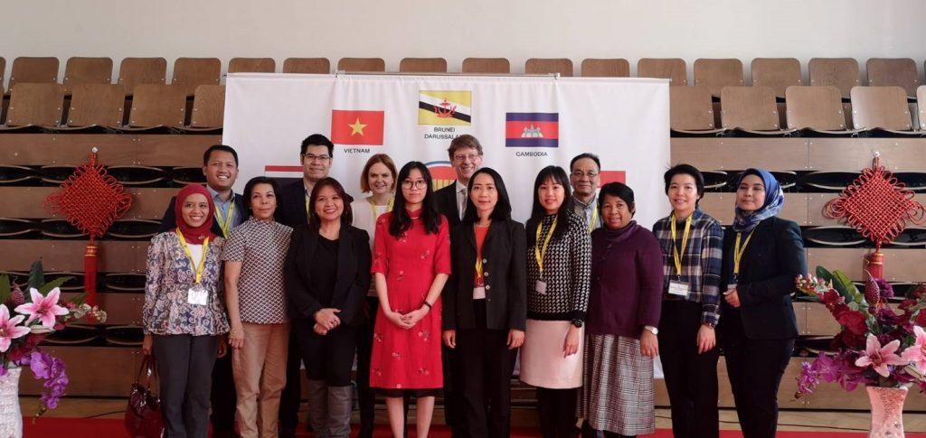ASEAN Diplomats at ECP's Taste Asia Festival