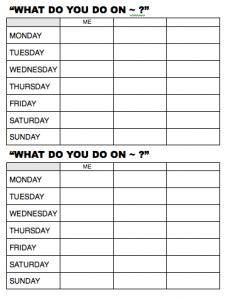 Basic Verbs Amp Days Of The Week Worksheet Beginner Esl Efl