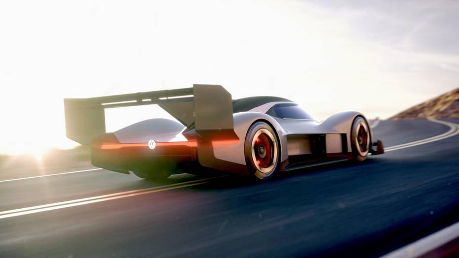 Volkswagen's Pikes Peak Racer