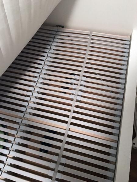 Ikea Malm Bed Slats Mattress 140cm X 200cm