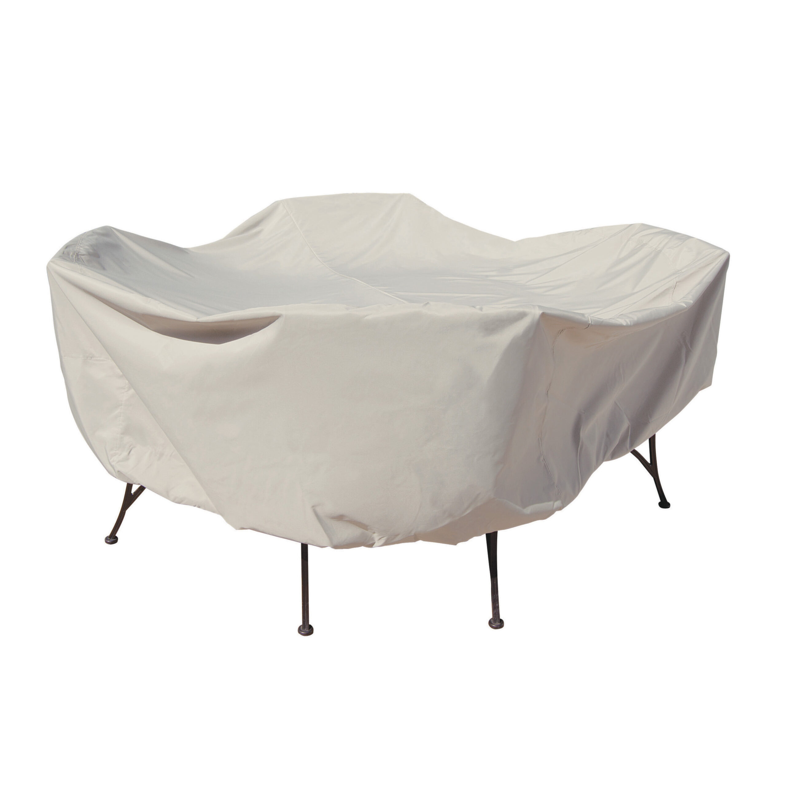 treasure garden protective furniture cover for a patio set with 48 inch round table and chairs