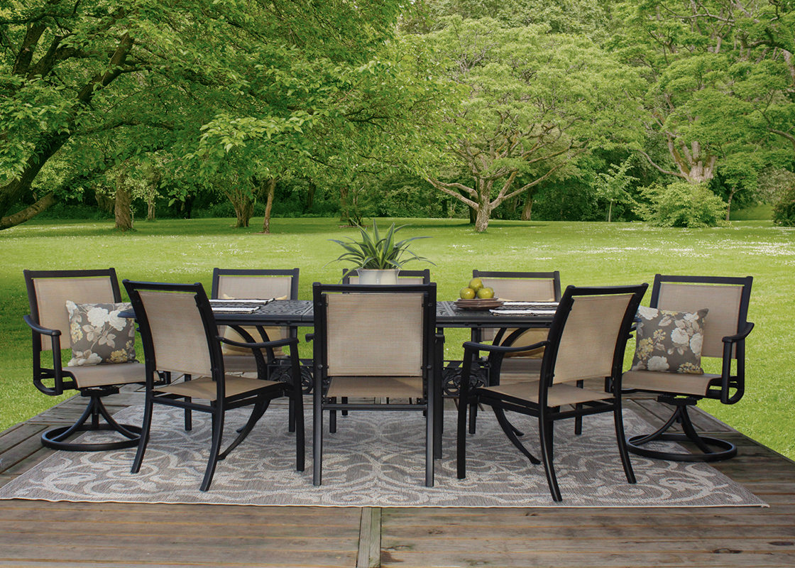stratford patio sling dining chair