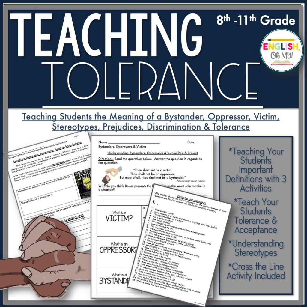 Teaching Tolerance A Lesson In Stereotyping Racism