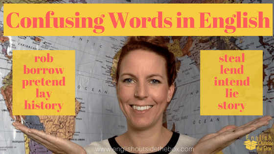 Understand confusing words in English