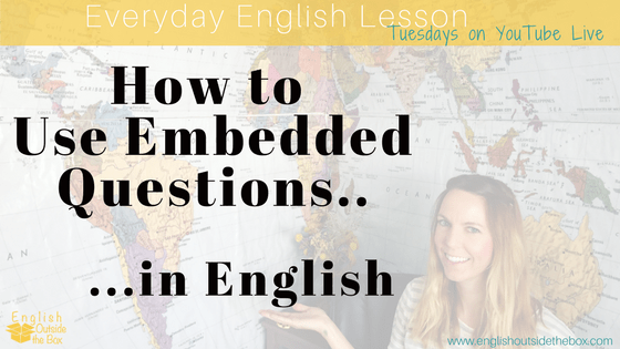 embedded questions in english